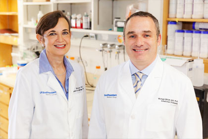 Drs. Beth Levine and Michael Shiloh