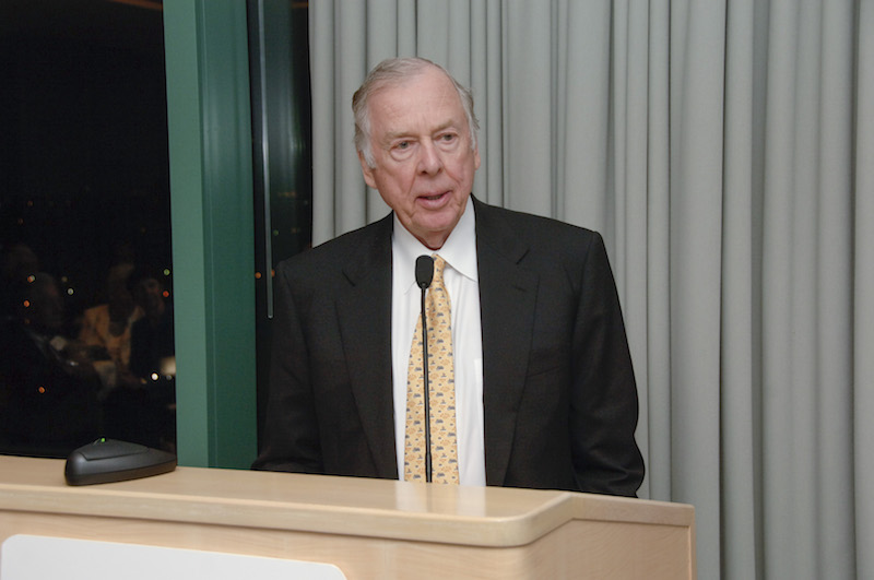 Recognized by The Chronicle of Philanthropy among the nation's most generous benefactors, Mr. Pickens and his foundation contributed more than $53 million to Southwestern Medical Foundation for the benefit of UTSouthwestern over decades of generosity.