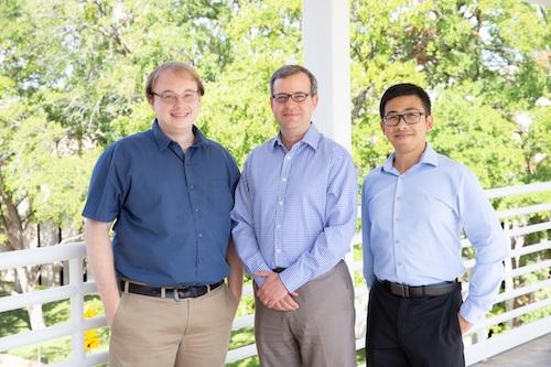 (l-r) Drs. Sebastian Winter, Ezra Burstein, and Wenhan Zhu