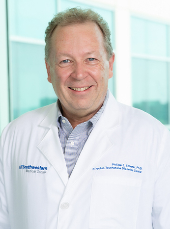 Photo of Philipp E. Scherer, Ph.D.