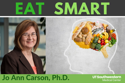 Facebook Live chat on eating smart